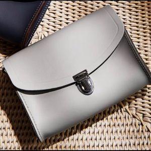 The Cambridge Company Crossbody Leather Satchel